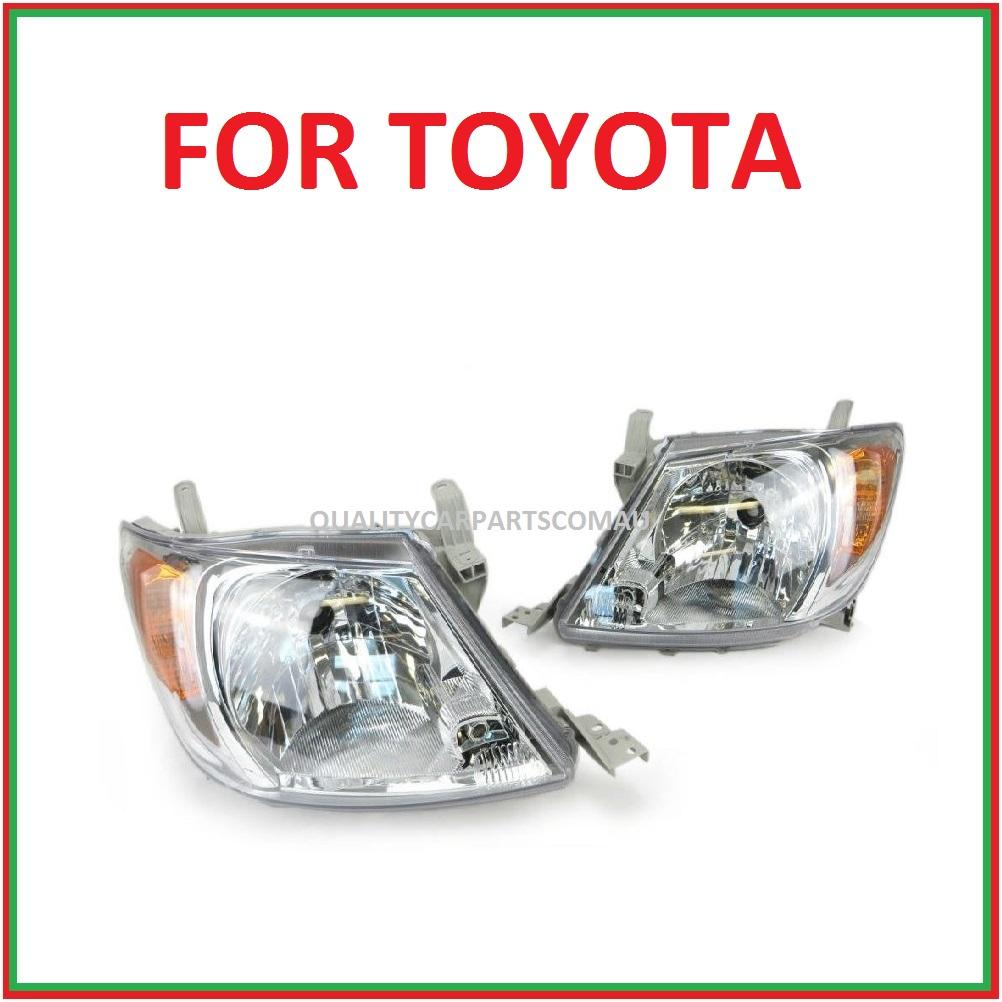 Headlights Left & Right side orange indicator lens for toyota Hilux 2005-2011 (p