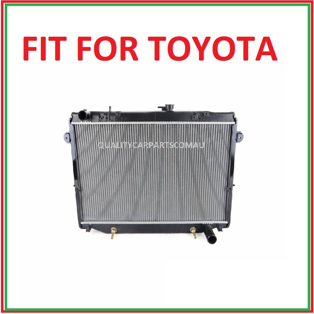 Landcruiser 100 series 98-05 4.5L 6cyl radiator auto/manual