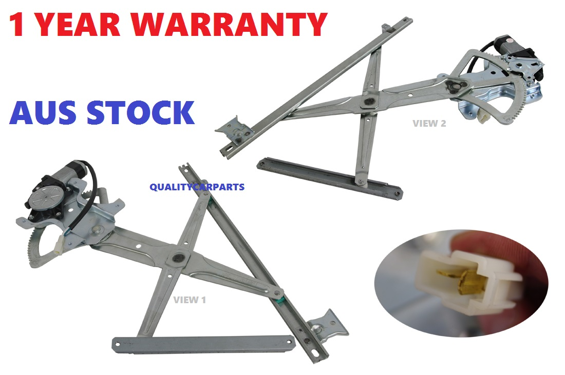 WINDOW REGULATOR RIGHT HAND SIDE FRONT FOR TOYOTA HIACE TRH/KDH WITH MOTOR NEW